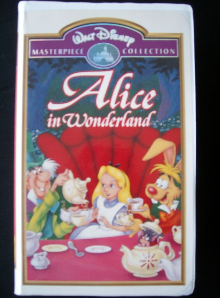 Disney Classic: Alice in Wonderland (VHS, 1998 ...