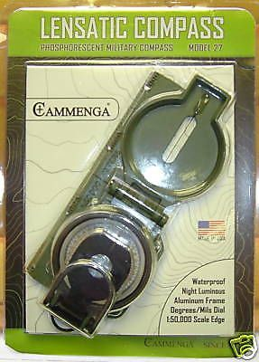 Compasses and GPS 52482: Cammenga Lensatic Compass Survival Boy Scouts Man Vs Wild Camping Hunt Hike 27 -> BUY IT NOW ONLY: $51.99 on eBay!