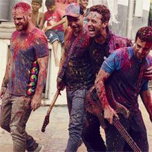 Coldplay at Wembley Stadium. I'd love to go and see Wembley Stadium and listen to one of my favourite bands live.