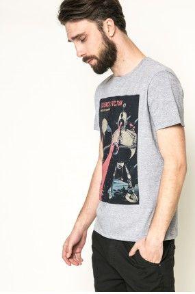 Medicine - T-shirt Mr. Robot kolor szary RW17-TSM102 - oficjalny sklep MEDICINE online