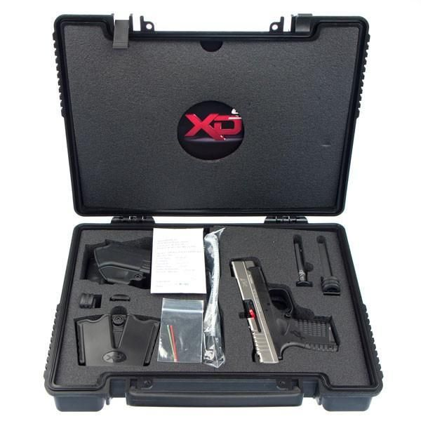 "Springfield XDS Bitone 9mm 4"" - $449.99   2 extra mags, dual-pistol bag"