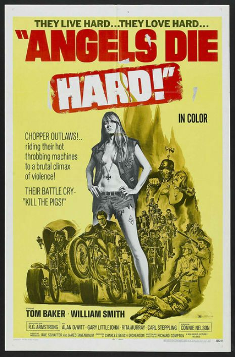 Hell on Wheels: Vintage outlaw biker movie posters | Dangerous Minds More