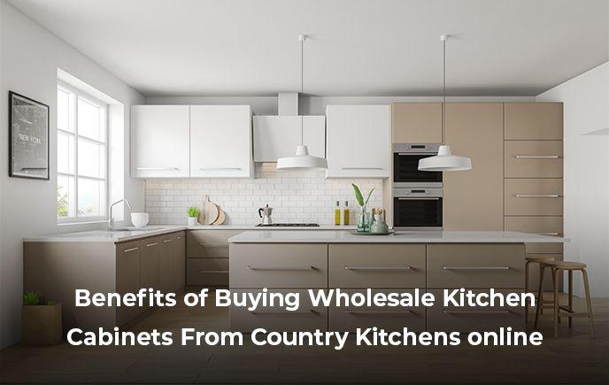 Benefits Of Buying Wholesale Kitchen Cabinets From Country Kitchen Beige Kitchen Wholesale Kitchen Cabinets Kitchen Interior
