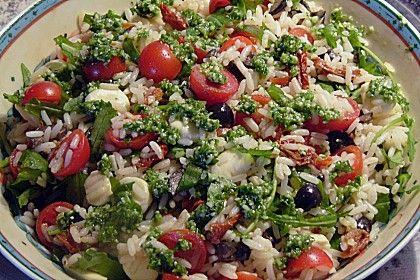 Italienischer-Reissalat