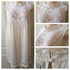 WOMENS PLUS DRESS 4X NEW IVORY WHITE LACE TUNIC TOP 26 28 XXXL NWT SPRING DEAL