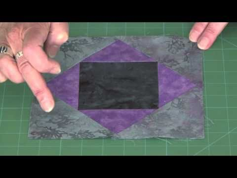 Creative Grids Non-Slip Storm at Sea Strip Ruler 16'' X 16'' - YouTube