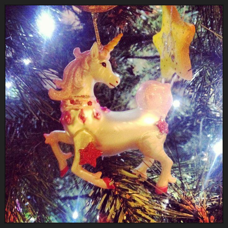 Unicorn - a mythical alternative to reindeer