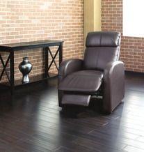 Fauteuil inclinable en cuir reconstitué  Home Studio de  149,99 $ (50% de rabais) -