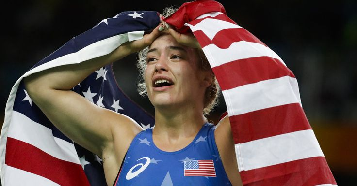 An Olympic Wrestler Won Gold in Rio Because of Her Anxiety Not in Spite of It