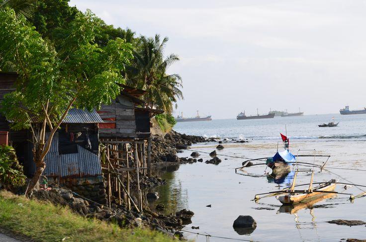 West Sumatra coast outside of Padang.