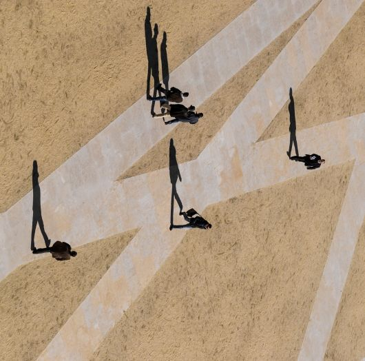 Patio des Escolas | Jose Barra & Goncalo Byrne; Photo: Fernando Guerra | Bustler