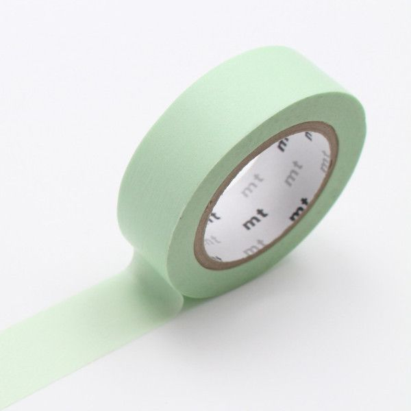 Pastel Green MT Washi Tape--each roll is 15mm x 10m
