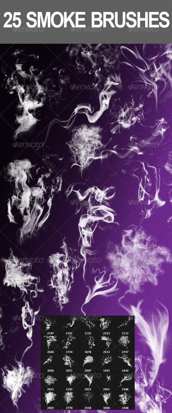 25 Smoke Photoshop Brushes by nadaimages on deviantART