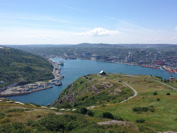 View from Signal Hill of St John's, Newfoundland  #ExploreNL, #ExploreCanada, #VisitNewfoundland, #wwwYYT  https://flic.kr/p/xXcBgy | wg_P2015-08-04 14.06.09 |
