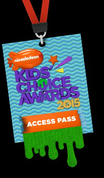 Enter Daily to WIN! GL!!  Nickelodeon Kids' Choice Awards 2015 Access Pass
