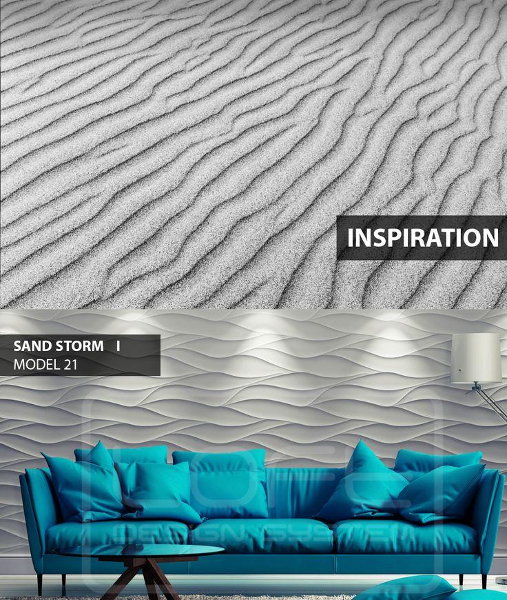 Sand Storm - model 21 - Inspiration. Click at the photo to get more information or to visit our website. #LoftDesignSystem #loftsystem #Decorativepanels #Inspiration #Interior #Design #wallpanels #3Ddecorativepanels #3dpanels #3dwallpanels #house #home #homedesign #Decorations #homedecorations #meringue #bedroom #salon #livingroom # sandstorm