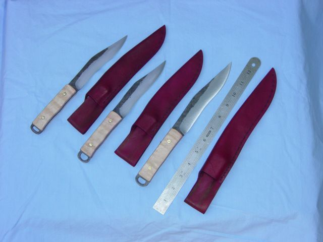 Roman Camp knives, these are copies of common ones.