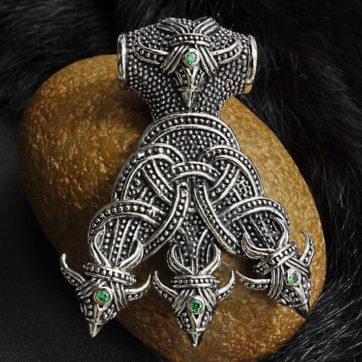fenrir thor 39 s hammer pendant mjolnir wolf 39 s claw necklace