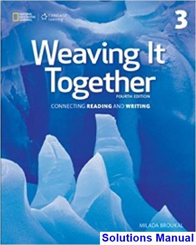 Best 50 solution manual download images on pinterest solutions manual for weaving it together 3 4th edition by broukal ibsn 9781305251663 fandeluxe Gallery