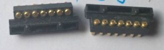 [ПР] pogo контактный разъем позолоченный 7 P антенны наперсток Бесплатной Доставкой