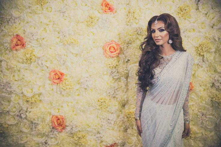 Flower Wall we created for Faryal Makhdoom