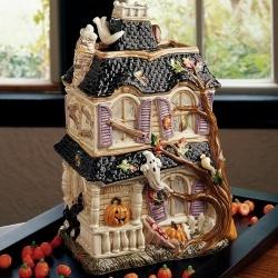 Fitz and Floyd - Halloween Harvest Cookie Jar - Fitz and Floyd, Inc.