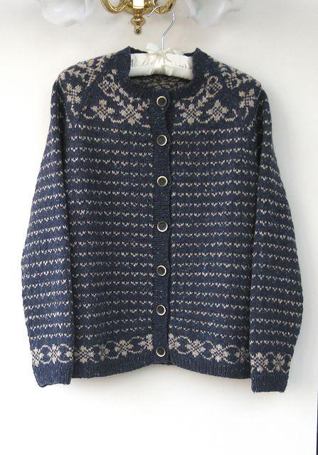 Ravelry: Fair Isle Cardigan pattern by Martin Storey