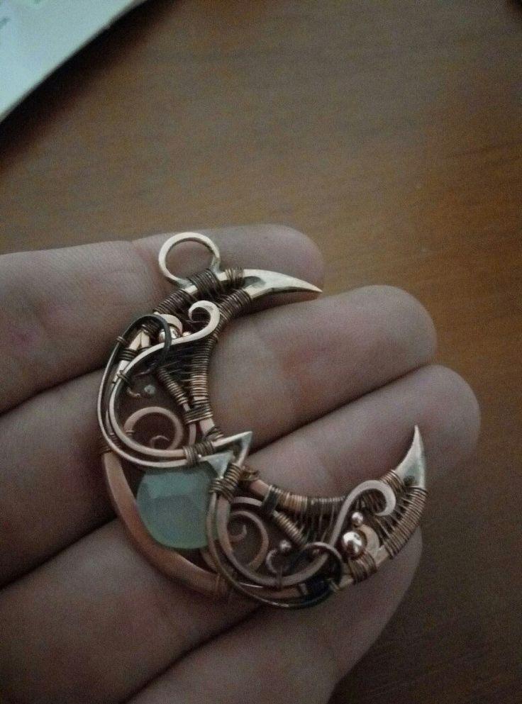 Artarina - copper jewelry wire wrap   VK