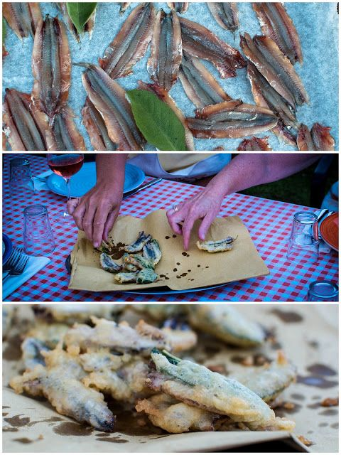 Fried Anchovies with Sage | 1lb of fresh anchovies, cleaned, spine ...