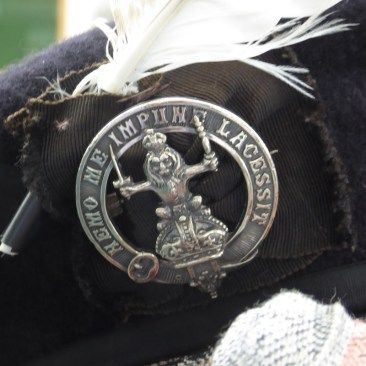 Balmoral Highlanders Uniform Glengarry Bonnet Badge