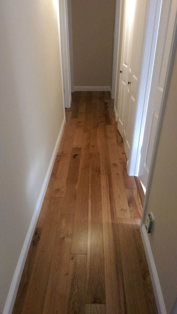 Homerwood Hickory Turmeric In A Hallway Decor Design