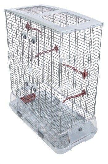 Jaula VISION Modelo L Alambre Grueso - #FaunAnimal Gracias a su inconfundible y moderno diseño, VISION cambiará las perspectivas actuales de las personas que tienen pájaros y modificará las de aquellos que deseen tenerlos.