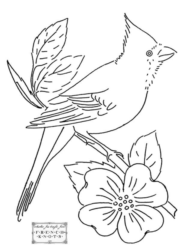 Ideas about bird embroidery on pinterest