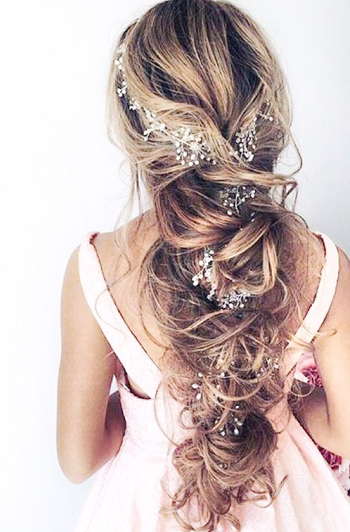 Gorgeous Wedding Hair Vine