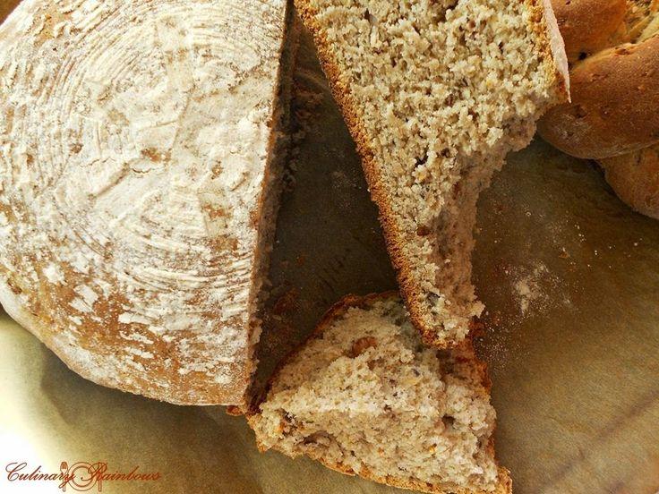 Culinary Rainbows: Pâine picantă