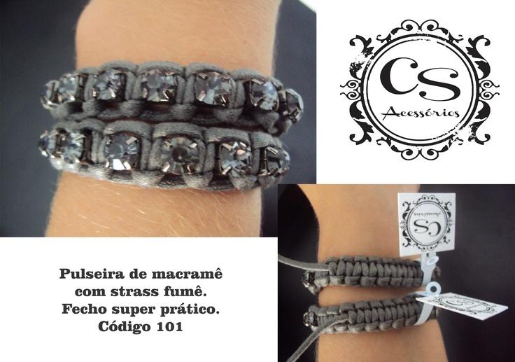 # macramé bracelets http://produto.mercadolivre.com.br/MLB-476383680-pulseiras-de-macram-diversas-cores-e-strass-_JM