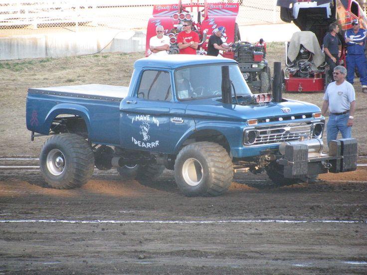Best Old School Truck Pulls Images On Pinterest Monster