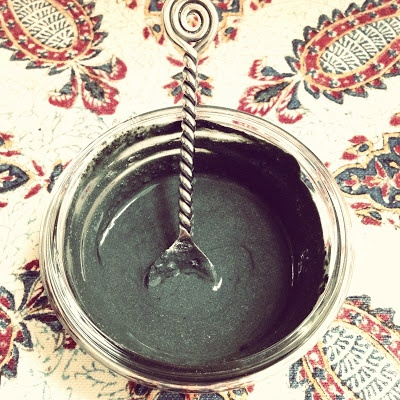 Fresh Picked Beauty: Radiant Skin Activated Charcoal & Clay Clearing Mask
