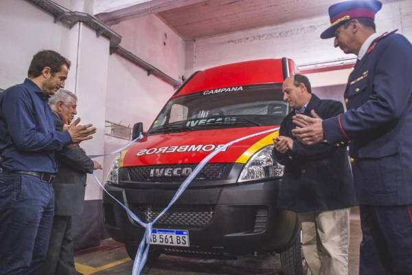 El Intendente acompañó los festejos del 68º aniversario de los Bomberos de Campana