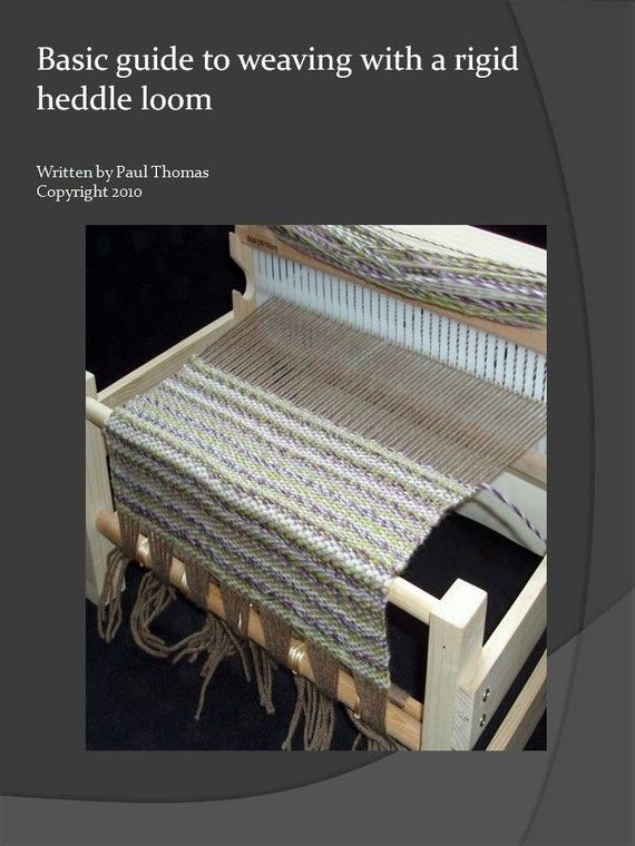 Basic guide to weaving on a rigid heddle loom