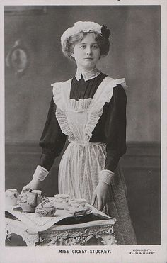 cook apron 1900s - Google Search