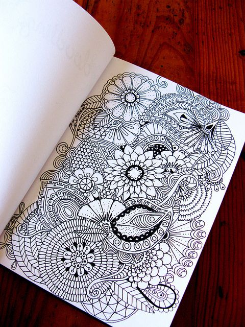 Hello Doodles | Flickr - Photo Sharing! These are the exact doodles I love doing--gotta go to her when I'm stuck!
