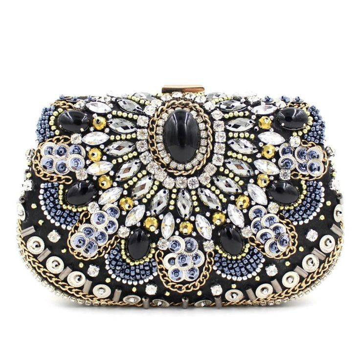 Find More Evening Bags Information about Famous Design Vintage Pearl Black Evening Bag Women Rhinestone Crystal Mini Handbags Wedding Banquet Clutch Wallet Bolso B968,High Quality wallet plastic,China wallet fossil Suppliers, Cheap wallet long from The Sunny Day on Aliexpress.com