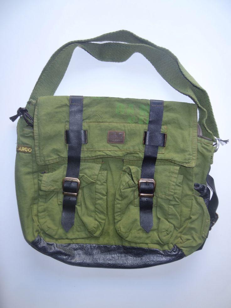 Old Cotton Cargo Bag - BAG#16 (59,- €)