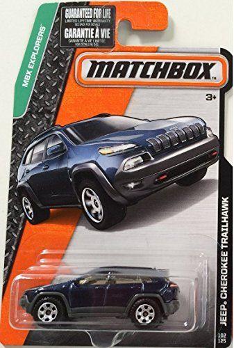 Matchbox, 2017 MBX Explorers, Jeep Cherokee Trailhawk [Da...
