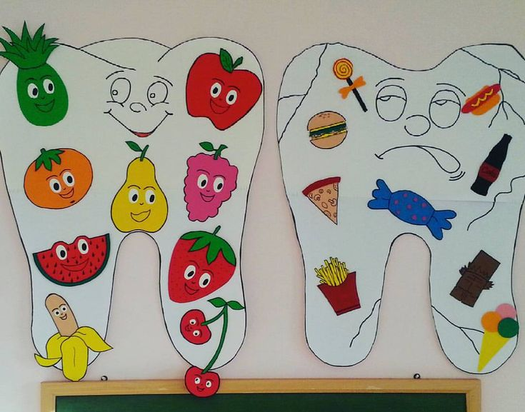 Ağız ve dis sağlığı=sağlıklı beslenme #child #children #craftsforkids #creative #crafts #ana - sanat.etkinligi