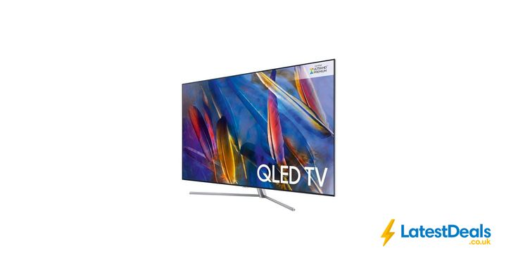 "SAMSUNG 55"" Smart 4K Ultra HD HDR QLED TV save £600 Free Delivery, £1,399 at Currys PC World"