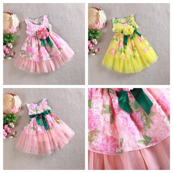 Latest Kids Spring Summer Frocks | Buy online frocks | Elegant Fashion Wear Price:1699 #summer #kids #string #frock