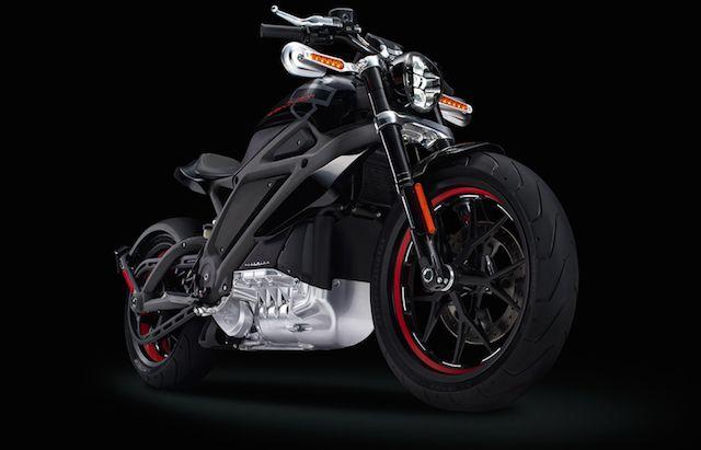 Harley-Davidson Electric Motorcycle – Fubiz™