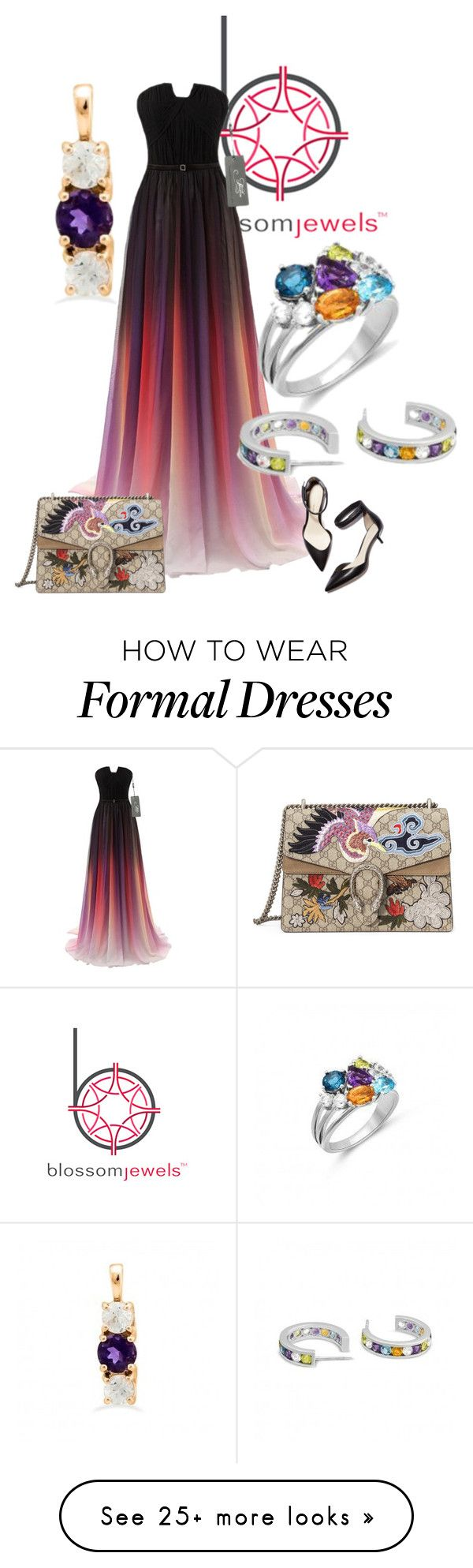 """""""Blossomjewels Sponsored Contest"""" by balloon565 on Polyvore featuring 3.1 Phillip Lim and Gucci"""
